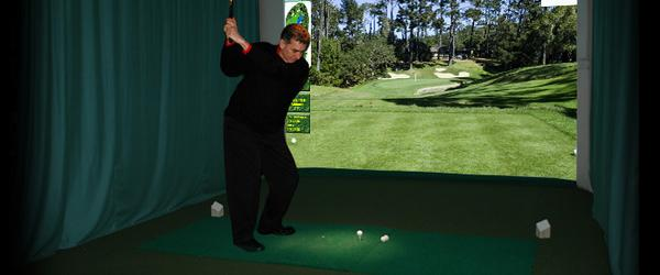 Headline for Best Indoor Home Golf Simulator Reviews 2014
