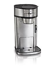 Hamilton Beach 49981A Single Serve Scoop Coffee Maker