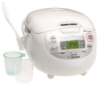 Best 10 Cup Rice Cooker 2014 | Zojirushi NS-ZCC18 10-Cup (Uncooked) Neuro Fuzzy Rice Cooker and Warmer, Premium White, 1.8-Liters