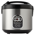 Best 10 Cup Rice Cooker 2014 | Aroma ARC-150SB 10-Cup (Uncooked) 20-Cup (Cooked) Digital Rice Cooker and Food Steamer, Black/Silver