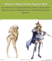 Queen's Blade Action Figures 2014 | Queen's Blade Action Figures 2014