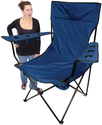 On The Edge 810202 Kingpin Giant Folding Chair (Blue)