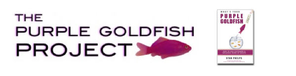 Headline for Purple Goldfish Project