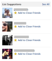 Facebook Pushes Use Of Close Friends, Acquaintances Lists - AllFacebook