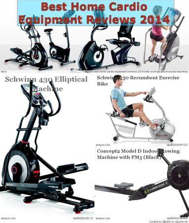 exercise machine names cardio