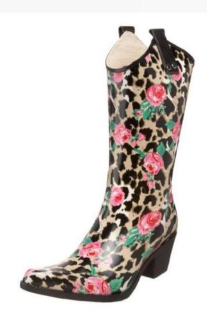 Leopard Print Rain Boots For Women 2014 A Listly List