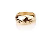 Buddhist Jewelry Rings | Happiness Ring - Gold