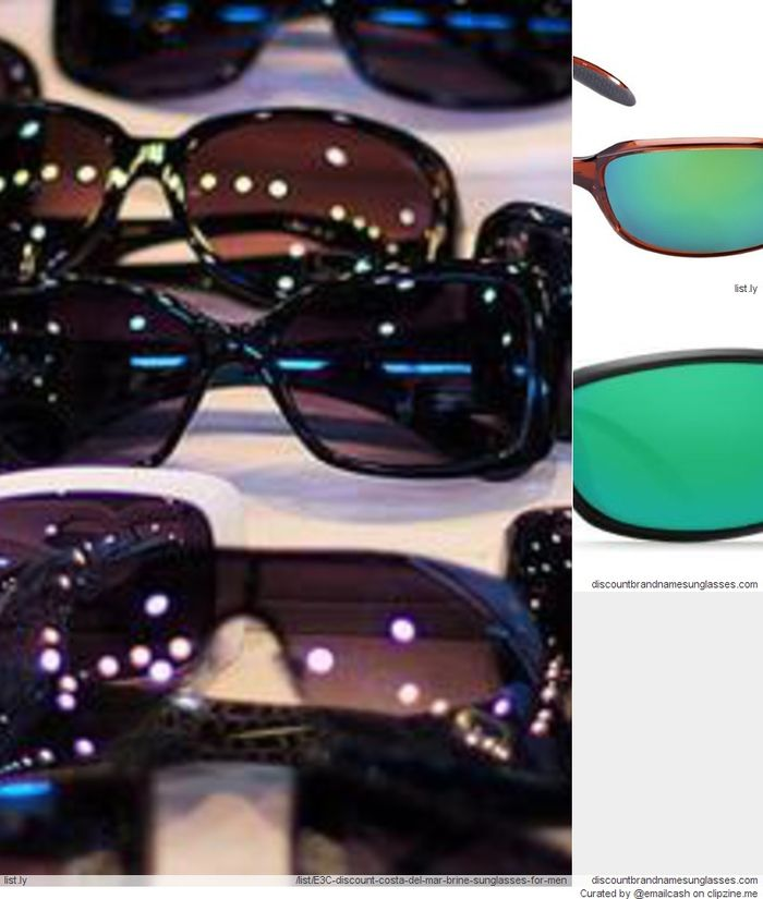 Discount Costa Del Mar Brine Sunglasses For Men