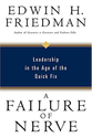 Leadership Books Recommended by #LeadWithGiants | Failure of Nerve by Edwin Friedman