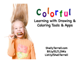 Drawing & coloring webtools & apps | Coloring & Drawing Apps Slides
