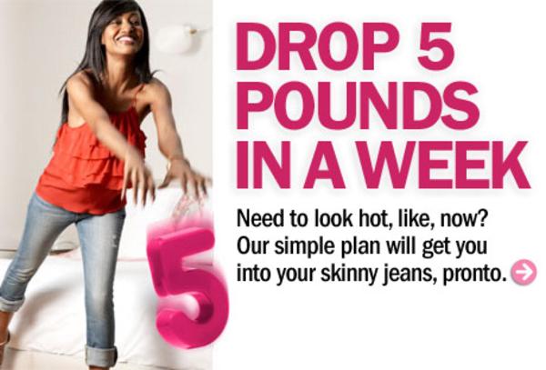 5 lbs weight loss a week