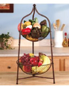 Two Tier Fruit Basket | Two Tier Fruit Basket