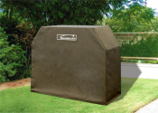 "Dream Backyard Oasis #SearsPatio #SummerWithSears | 56"" x 44"" Grill Cover - Tan- Kenmore-Outdoor Living-Grills & Outdoor Cooking-Grill Covers"