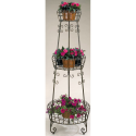 3 Tier French Planter- Deer Park Ironworks-Outdoor Living-Outdoor Decor-Planters