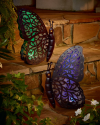Dream Backyard Oasis #SearsPatio #SummerWithSears | Solar Butterfly - Blue- Garden Oasis-Outdoor Living-Outdoor Decor-Lawn Ornaments & Statues