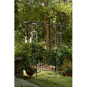 Dream Backyard Oasis #SearsPatio #SummerWithSears | Metal Arbor with Gate- Garden Oasis-Outdoor Living-Outdoor Decor-Arbors & Trellises