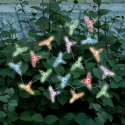 Dream Backyard Oasis #SearsPatio #SummerWithSears | Solar Color Changing Hummingbird 20 Light Set--Outdoor Living-Outdoor Lighting-Decorative Lighting