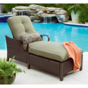 Dream Backyard Oasis #SearsPatio #SummerWithSears | Peyton Chaise Lounge- La-Z-Boy-Outdoor Living-Patio Furniture-Chaise Lounge Chairs