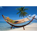 Wood Curved Arc Stand Hammock Chair Swing- ShipsinaDay-Outdoor Living-Patio Furniture-Hammocks & Accessories