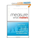 The Best Books About Social Media Marketing | Measure What Matters: Online Tools For Understanding Customers, Social Media, Engagement, and Key Relationships