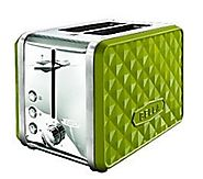 Bella Lime Green 2 Slice Toaster