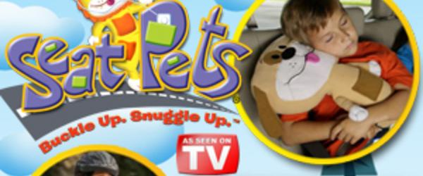 Headline for Best Seat Belt Pillow Pet