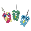 Flip Flop Bathroom Decorations | Allure Home Creations Sun and Sand Shower Hook.