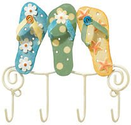 Flip Flop Bathroom Decorations | Flip Flops Pool / Key Hook Tropical Beach New. Powered by RebelMouse