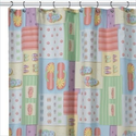 Flip Flop Bathroom Decorations | Fancy Feet Flip Flop Shower Curtain. Powered by RebelMouse