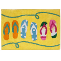 "Flip Flop Bathroom Decorations | Cute Flip Flop Bathroom Decor for that Coastal Look "" Cute Bath Decor"