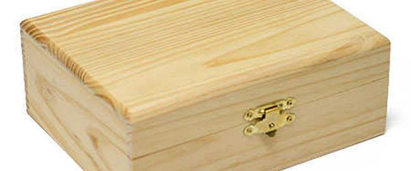 Best Wooden Craft Box Unfinished with Drawers, Lids, Glass Door Reviews 2014