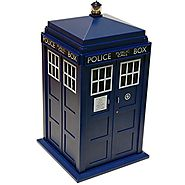 Unique Cookie Jars | Doctor Who Tardis Cookie Jar Lights & Sounds