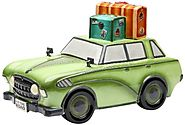 Unique Cookie Jars | Appletree Design Road Trip Car Cookie Jar, 7-5/8-Inch