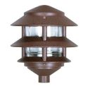 Nuvo 77/323 Two Louver Hood Pathway Light