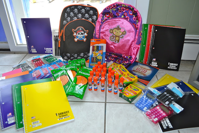 Top Ten Items For Back To School