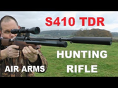 What Is The Best Refurbished Large Bore High Powered Air Rifles For Hunting | REVIEW: Air Arms S410 TDR hunting air gun