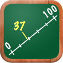 elementary math apps | MathTappers: Numberline - a math game to help children learn whole numbers, integers & real numbers