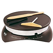 Best Crepe Maker | Paderno Tibos Electric Nonstick Crepe Maker - Kitchen Things