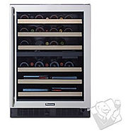 Best Small Wine Cellars | Wine Enthusiast SommSeries Dual Zone Wine Cellar - Kitchen Things