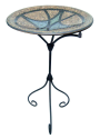 Mosaic Birdbath- Jaclyn Smith Today-Outdoor Living-Outdoor Decor-Lawn Ornaments & Statues