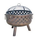 Throw a Summer Olympics Dream Party (Dreamy Backyard) #SummerWithSears, #SearsPatio, #GrillingIsHappiness | Woven Charm Fire Pit-