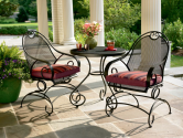 Throw a Summer Olympics Dream Party (Dreamy Backyard) #SummerWithSears, #SearsPatio, #GrillingIsHappiness | Stanton 3 Pc. Bistro Set*- Country Living-Outdoor Living-Patio Furniture-Dining Sets