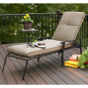 Throw a Summer Olympics Dream Party (Dreamy Backyard) #SummerWithSears, #SearsPatio, #GrillingIsHappiness | Fair Oaks Cushioned Chaise- Country Living-Outdoor Living-Patio Furniture-Chaise Lounge Chairs