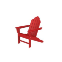 Recycled Sea Breeze Outdoor Patio Adirondack Chair - Candy Apple Red- Eco-Friendly