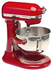 Best KitchenAid Mixer Reviews 2014 - 2015 | KitchenAid KV25GOXER Professional 5 Plus 5-Quart Stand Mixer, Empire Red