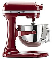 Best KitchenAid Mixer Reviews 2014 - 2015 | KitchenAid KP26M1XER 6 Qt. Professional 600 Series - Empire Red