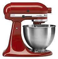Best KitchenAid Mixer Reviews 2014 - 2015 | KitchenAid 4-1/2-Quart Ultra Power Stand Mixer, Empire Red