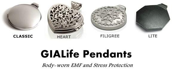 Headline for GIALife Pendant - GIA Wellness EMF Pendants