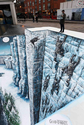 'Game of Thrones' recreates The Wall on London street