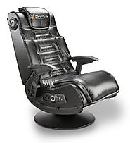 Best Rated Chairs for Video Games | X Rocker 51396 Pro Series Pedestal 2.1 Video Gaming Chair, Wireless